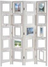 MCW Paravent Bildgalerie II, Fenster mit je zwei