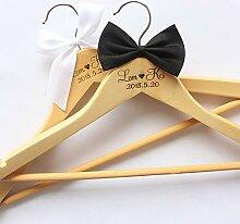 MCYY Kleiderständer Personalisierte Hochzeit