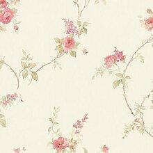 md29403–Impressions Silk Floral Brown,