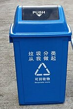 MDBLYJ Outdoor-Mülleimer, klassifiziert