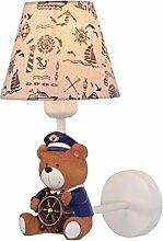 MDBLYJWandlampe Kinderzimmer Wandlampe Junge