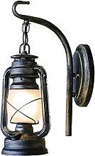 MDBLYJWandlampe Weinlese nostalgische Wandlampe,