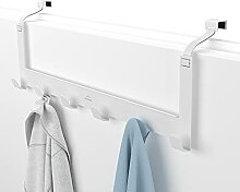 MDCASA Türgarderobe Rückseite weiß - flexibel