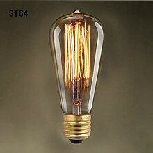 MDD@BB Deckenleuchte Edison Bulb Silk Silk Carbon