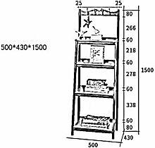 MDD Regal Multi Layer Storage Holzleiter Leiter