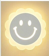 mddiksa Kinder LED Nachttischlampe Acryl Wandlampe