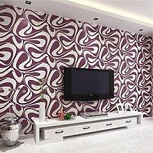 Mddjj 3D Beflockung Tapete Für Schlafzimmer