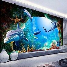 Mddjj 3D-Fototapete für Wände Ozean,
