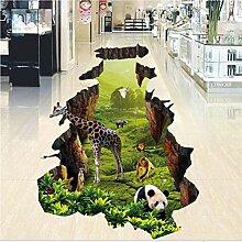 Mddjj 3D Wandbild Wasserdicht Boden Tapete Für