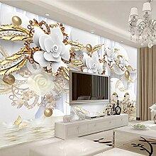 Mddjj Europäischen Stil 3D Weiße Blumen Schmuck