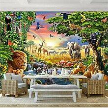 Mddjj Foto Wandbild Tapete Für Wand 3D Cartoon