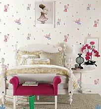 Mddjj Kinderzimmer Tapete Schmetterling Engel