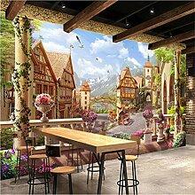 Mddjj Wandbild Tapete Europäischen Stil Retro
