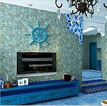 MDDW-Amerikanisches reinem Zellstoff Tapete Retrotapeten knacken schlicht Tapete Zimmer großes Schlafzimmer Wohnzimmer , retro pure paper (light)