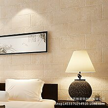 MDDW-Backstein Muster Vlies-Tapeten Wohnzimmer