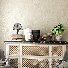 MDDW-Einfache grüne Tapete neue amerikanische Schlafzimmer Wohnzimmer Normalpapier Vliestapete/Wohnzimmer , 1122