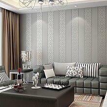 MDDW-Europäische 3D dreidimensionale gewebten Streifen Tapete einfache Schlafzimmer/Wohnzimmer TV Wand Hintergrundbild , wallpaper