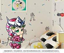 MDDW-Moderne Vlies Cartoon Roboter jungen Kinder Zimmer Tapete Ende der grünen Perle Schlafzimmer Tapeten , 5002