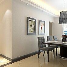 MDDW-Modernen minimalistischen Stil schlicht einfarbigen Tapete Beige-Khaki Wohnzimmer Schlafzimmer TV Wand Hintergrundbild , simple gray