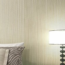MDDW-Non-Woven solide Leinwandbindung Vereisung Tapete einfach modernes Wohnzimmer Schlafzimmerwände , green