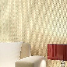 MDDW-Non-Woven solide Leinwandbindung Vereisung Tapete einfach modernes Wohnzimmer Schlafzimmerwände , yellow green