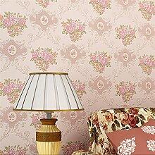 MDDW-Schäumende Relief Wand Tapete strömten Tapeten Schlafzimmer Wohnzimmer Kleidung Shop Vliesstoff Garten , 3#