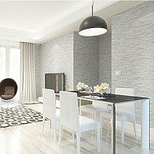 MDDW-Schlichte Vlies Tapete grün einfache und moderne Wohnzimmer Schlafzimmer Höhle TV Hintergrundwand einfarbigen Tapete , Silver