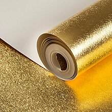 MDDW-Solide schlicht gold goldene Zeichnung Zeichnung Tapete Tapete Hotel KTV tooling Dekoration Wohnzimmer Wände