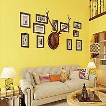 MDDW-Süße Candy gelb Kinder Zimmer Tapete Klebstoff verklebt Tuch hochwertigem grünem Hintergrund Tapeten