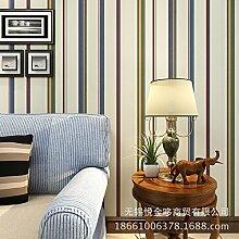 MDDW-TV Hintergrund Wand Tapete Tapete Streifen minimalistischen Stil Kinder Zimmer Dekorationsmaterial