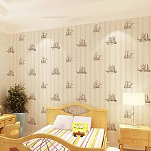 MDDW-Umweltfreundliche Kinderzimmer AB entsprechen Navigation Vlies Tapete Kinder Zimmer Schlafzimmer Tapeten Muster , 5042