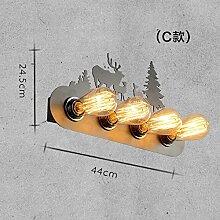MDERTY LED Wandleuchte Innen Wandlampe AisleLoft,