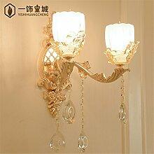MDERTY LED Wandleuchte Innen Wandlampe Bettseitig