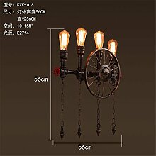 MDERTY LED Wandleuchte Wandlampe Industrial Wind