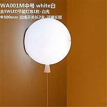 MDERTY Retro Wandlampe Bunte Ballon Lichter