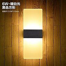 MDERTY Retro Wandlampe LED Nachttischlampe