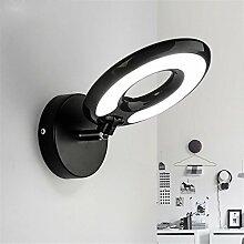 MDERTY Wandlampe LED Modern Wandlampen Bett lesen
