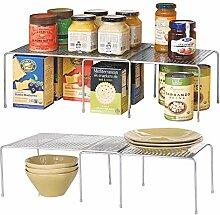mDesign 2er-Set Küchenregal – praktische