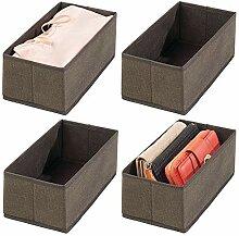 mDesign 4er-Set Aufbewahrungsbox - Schubladen