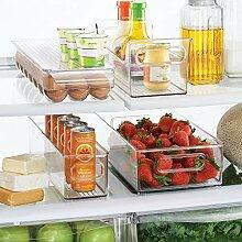 mDesign 4er-Set Kühlschrankbox – 2 x