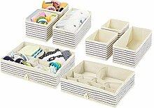 mDesign 8er-Set Kinderzimmer Aufbewahrungsbox –