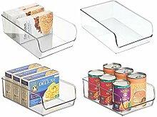mDesign Aufbewahrungsbox groß - ideal zur Küchen