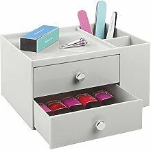 mDesign Aufbewahrungsbox mit zwei Schubladen –