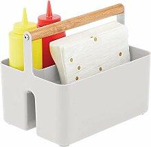 mDesign Aufbewahrungskorb für die Küche –