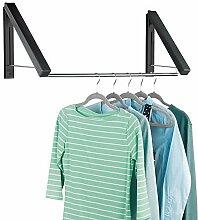 mDesign ausziehbare Wand Kleiderstange für