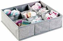 mDesign Baby Organizer - kleine Aufbewahrungsbox