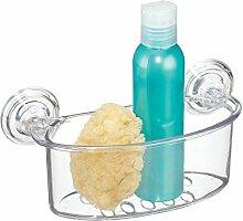 mDesign Dusch Hängeregal - Duschablage ohne