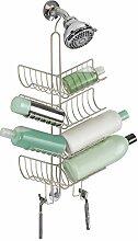 mDesign Duschablage zum Hängen - praktisches