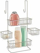 mDesign Duschablage zum Hängen über die