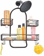 mDesign Duschkorb zum Hängen - hübsche